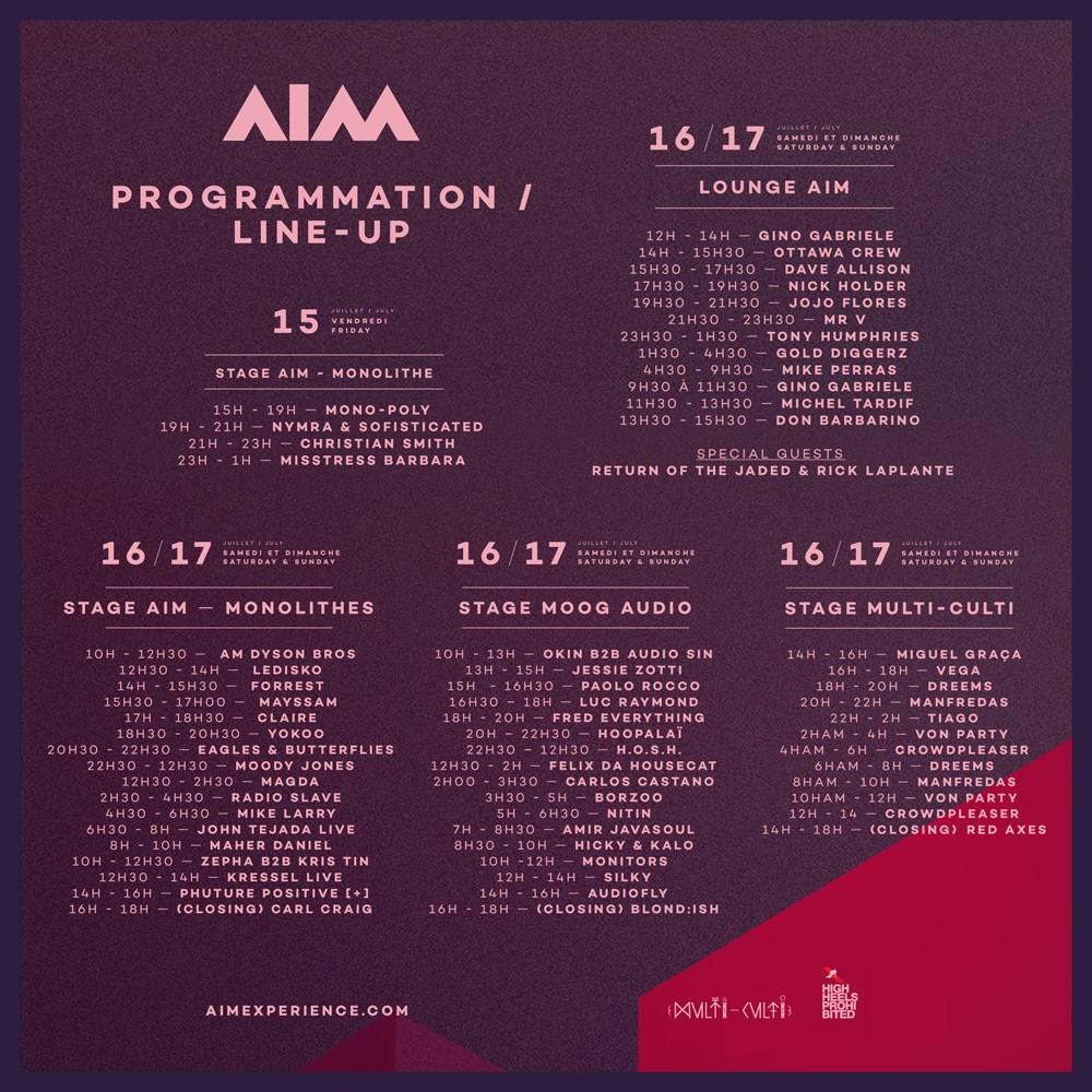 AIM Festival Poster