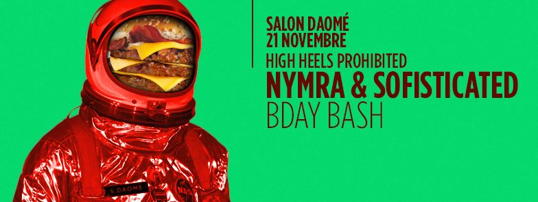 Nymra & Sofisticated Live from Salon Daome